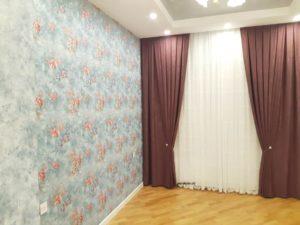 Продажа занавесей для спальни в Баку.
